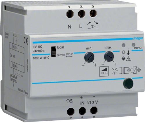 Модульный диммер EVN100