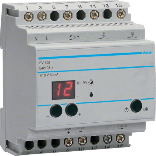 Модульный диммер EVN108