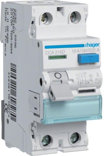 Устройство защитного отключения (УЗО) HAGER серии CСA