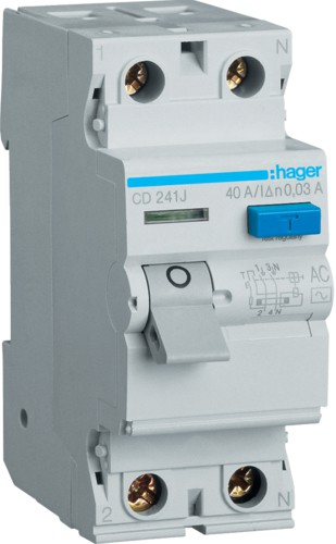 Устройство защитного отключения (УЗО) HAGER