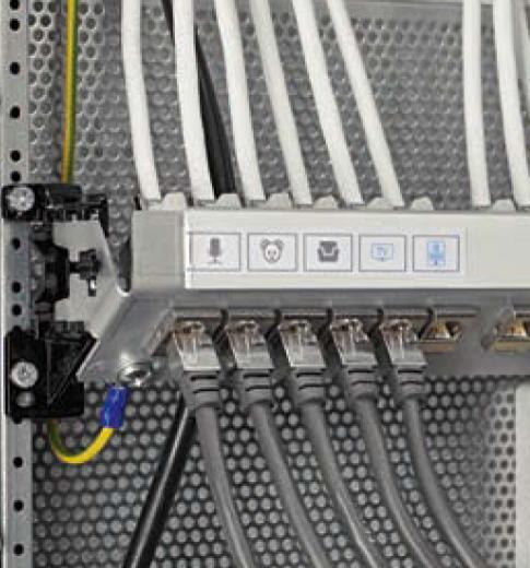 Щит распределительный навесной с монтажной панелью