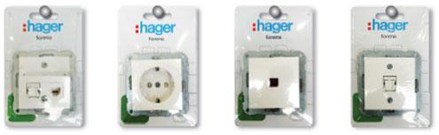 Электроустановочные изделия Fiorena от Hager